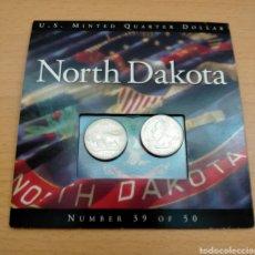 Monedas antiguas de América: COLECCIÓN NORTH DAKOTA. Lote 245293550