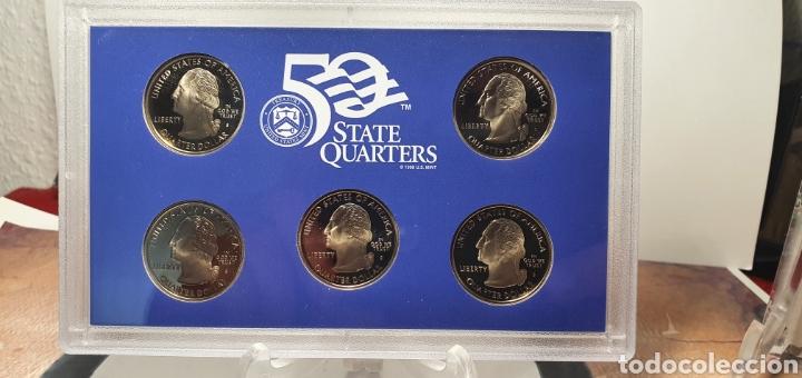 Monedas antiguas de América: SET MONEDAS ESTADOS UNIDOS 2008 CALIDAD PROOF EDICION QUE INCLUILLE SET QUARTERS CONMEMORATIVOS - Foto 4 - 245366300