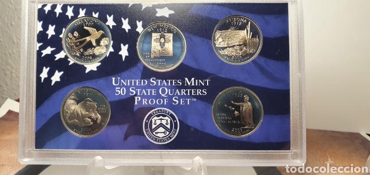 Monedas antiguas de América: SET MONEDAS ESTADOS UNIDOS 2008 CALIDAD PROOF EDICION QUE INCLUILLE SET QUARTERS CONMEMORATIVOS - Foto 5 - 245366300