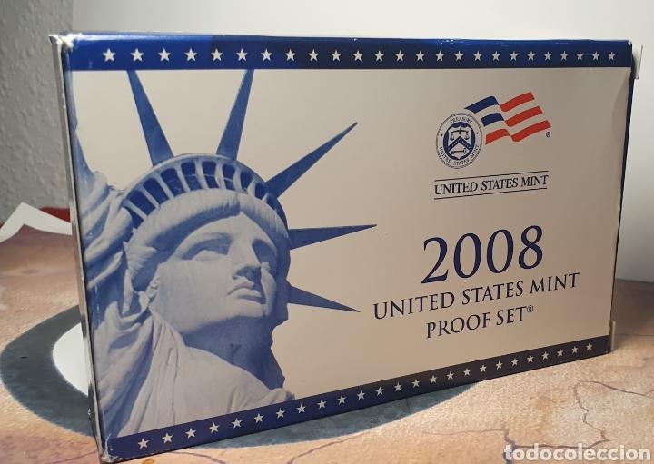 Monedas antiguas de América: SET MONEDAS ESTADOS UNIDOS 2008 CALIDAD PROOF EDICION QUE INCLUILLE SET QUARTERS CONMEMORATIVOS - Foto 8 - 245366300