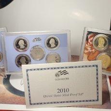Monedas antiguas de América: SET MONEDAS ESTADOS UNIDOS 2010 ¡ CALIDAD PROOF ¡. Lote 245369280
