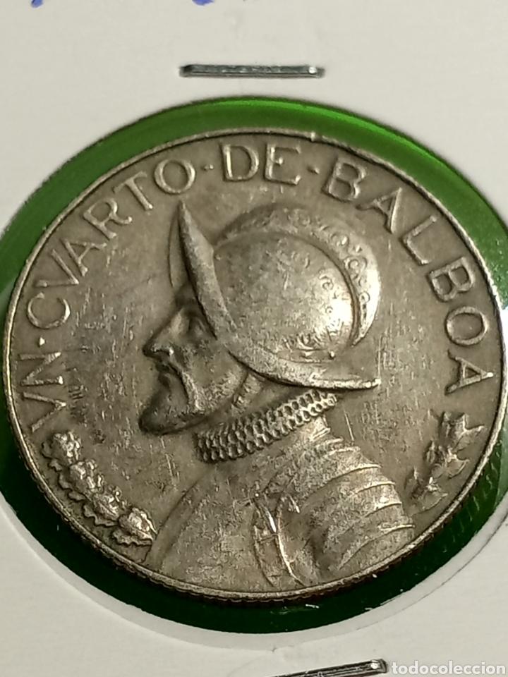 1/4 DE PAN BALBOA. REPUBLICA DE PANAMÁ. (Numismática - Extranjeras - América)