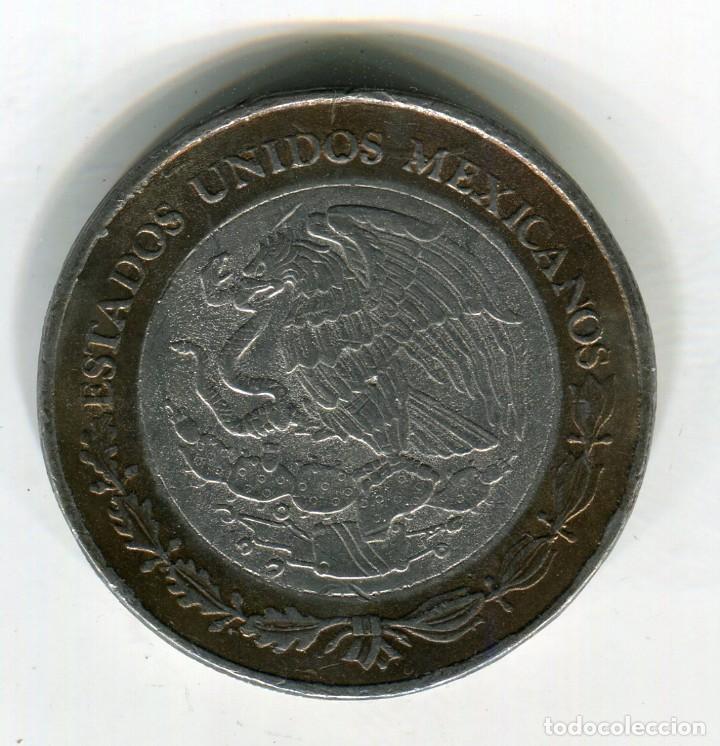 Monedas antiguas de América: MEXICO 100 PESOS ESTADO DE JALISCO AÑO 2006 METAL BRONCE/PLATA - Foto 2 - 246016670