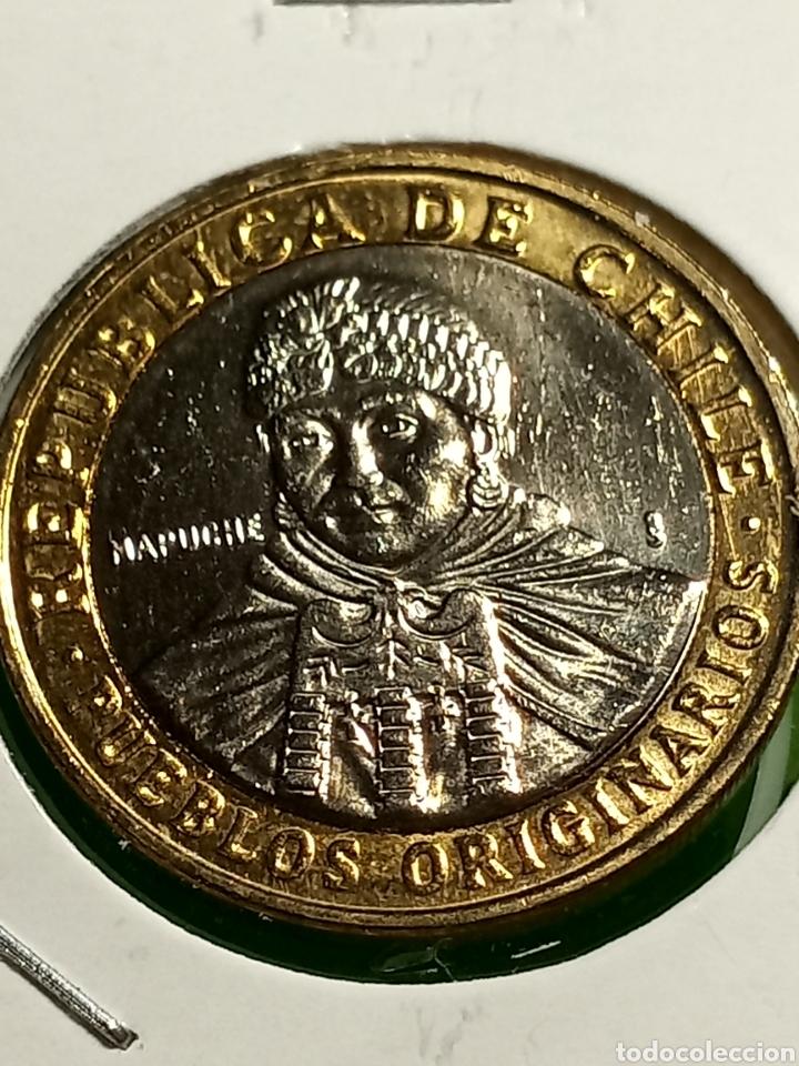 100 PESOS DE CHILE SC. (Numismática - Extranjeras - América)