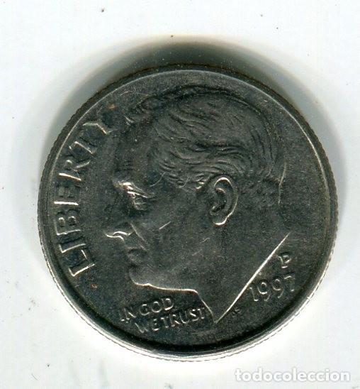 ESTADOS UNIDOS ONE DIME 1997 CECA P (Numismática - Extranjeras - América)