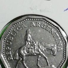 Monedas antiguas de América: ARGENTINA. 10 PESOS DE 1963. MBC.. Lote 246180530