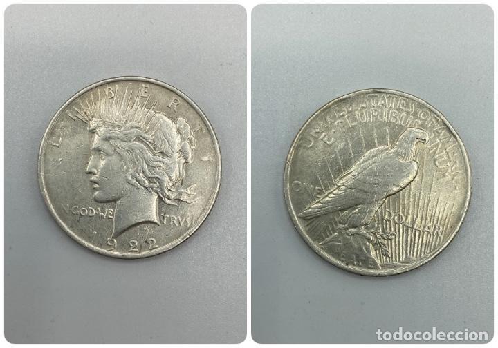 MONEDA. EEUU. ONE DOLLAR. 1 DOLAR. 1922. VER FOTOS (Numismática - Extranjeras - América)