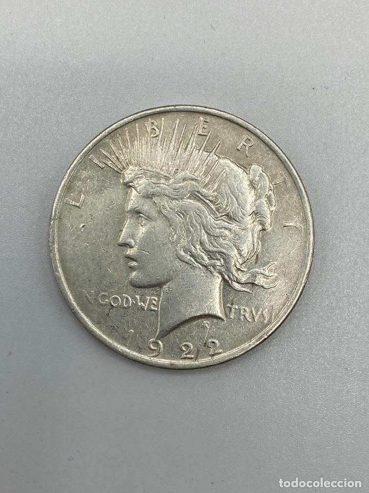 Monedas antiguas de América: MONEDA. EEUU. ONE DOLLAR. 1 DOLAR. 1922. VER FOTOS - Foto 2 - 246445845