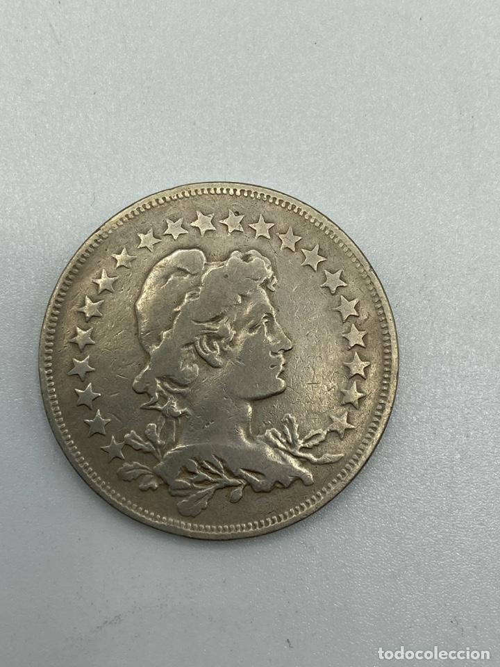 Monedas antiguas de América: MONEDA. REPUBLICA DE LOS ESTADOS UNIDOS DE BRASIL. 400 REIS. 1923. VER FOTOS. - Foto 2 - 246465000