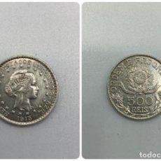 Monedas antiguas de América: MONEDA. REPUBLICA DE LOS ESTADOS UNIDOS DE BRASIL. 500 REIS. 1913. VER FOTOS.. Lote 246465250