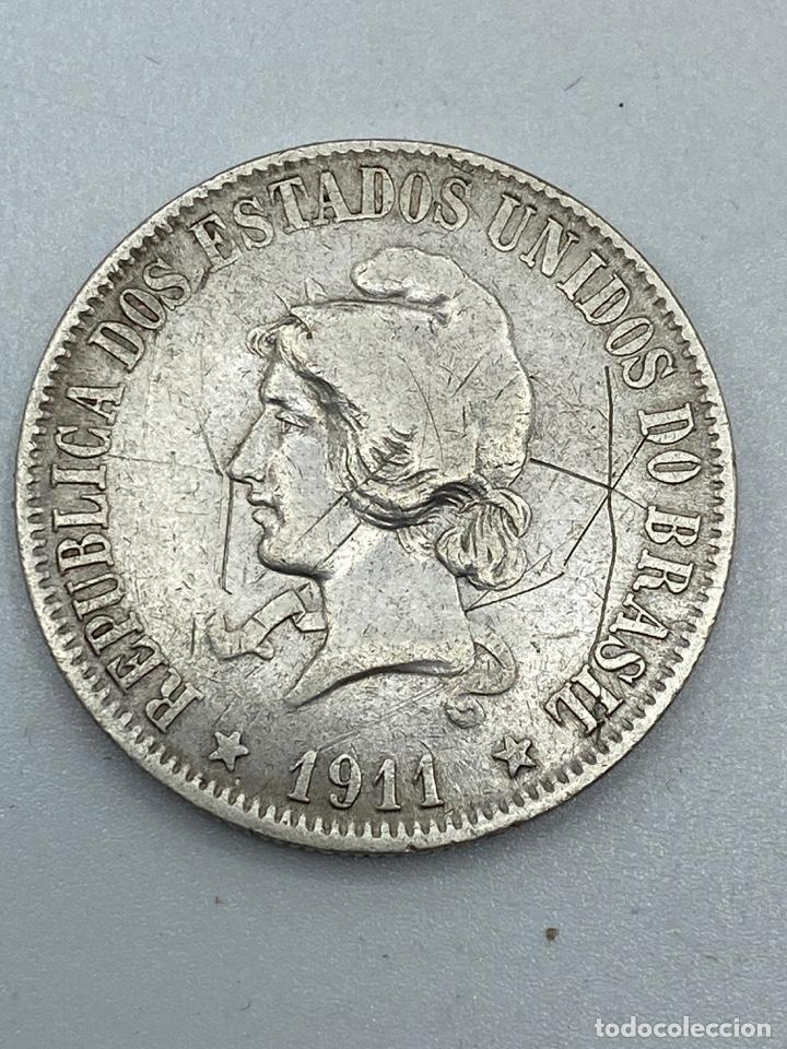 Monedas antiguas de América: MONEDA. BRASIL. 2000 REIS. 1911. VER FOTOS - Foto 2 - 246835090