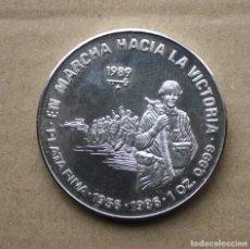 Monete antiche di America: CUBA - 10 PESOS 1989- ONZA DE PLATA PURA ( 1956-1986). Lote 248137040