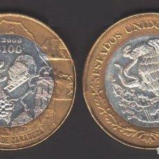 Monedas antiguas de América: MEJICO - 100 PESOS - 2006 - COAHUILA DE ZARAGOZA - NO CIRCULADA. Lote 248424400