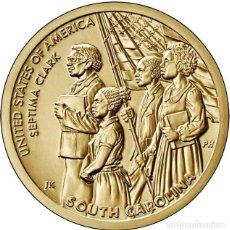 Moedas antigas da América: ESTADOS UNIDOS / USA 1 DOLAR 2020 INNOVADORES AMERICANOS ( SEPTIMA CLARK ) D. Lote 276239053