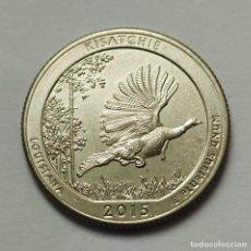 Monedas antiguas de América: ## USA CUARTO DE DOLAR - KISATCHIE (LOUISIANA) - 2015 D SIN CIRCULAR ##. Lote 249165920