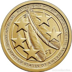 Monedas antiguas de América: ESTADOS UNIDOS USA 1 DOLAR SACAGAWEA INDIA NATIVA 2021 P - CECA P - SC. Lote 251581580