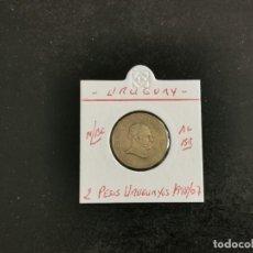 Monete antiche di America: URUGUAY 2 PESOS 2007 MBC KM=104.2 (ALUMINIO-BRONCE). Lote 251621865