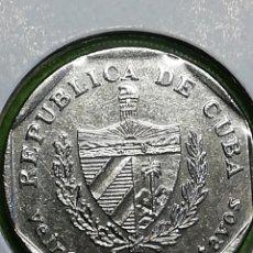 Moedas antigas da América: 25 CENTAVOS DE 2003. REPÚBLICA DE CUBA. BC. Lote 252515000