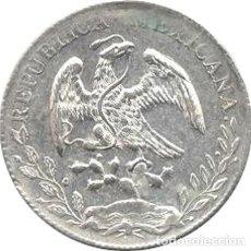 Monedas antiguas de América: MÉXICO. 8 REALES. 1.887 (FZ) ZACATECAS. PLATA. Lote 252603580
