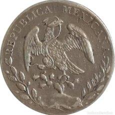 Monedas antiguas de América: MÉXICO. 8 REALES. 1.889 (RR) GUANAJUATO. PLATA. Lote 252680090