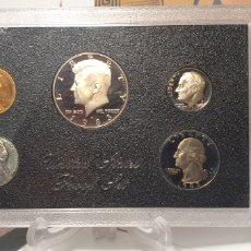 Monedas antiguas de América: SET MONEDAS ESTADOS UNIDOS CALIDAD PROOF 1983. Lote 253208035