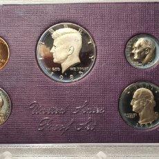 Monedas antiguas de América: SET MONEDAS ESTADOS UNIDOS CALIDAD PROOF 1985. Lote 253208100