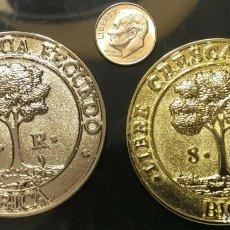 Monedas antiguas de América: HONDURAS GUATEMALA COSTA RICA EL SALVADOR SET FANTASY COINS 8 REALES ESCUDOS 1821-2021 CONMEMORATIVA. Lote 254296485