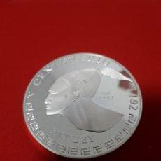 Monedas antiguas de América: CUBA .30 PESOS. HATUEY 3 OZ, AG 0.999. Lote 254463755