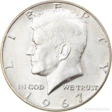 Monedas antiguas de América: MONEDA, ESTADOS UNIDOS, HALF DOLLAR, 1967, PHILADELPHIA, MBC+, PLATA, KM:202A. Lote 254666540