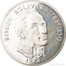 Monedas antiguas de América: MONEDA, PANAMÁ, 20 BALBOAS, 1973, BE, FDC, PLATA, KM:31. Lote 254668030