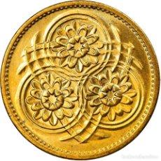 Monedas antiguas de América: MONEDA, GUYANA, 5 CENTS, 1989, SC, NÍQUEL - LATÓN, KM:32. Lote 254675675