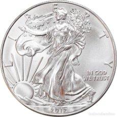 Monedas antiguas de América: MONEDA, ESTADOS UNIDOS, SILVER EAGLE, DOLLAR, 2012, 1 OZ, FDC, PLATA. Lote 254676930