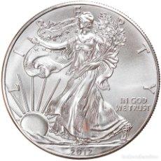 Monedas antiguas de América: MONEDA, ESTADOS UNIDOS, SILVER EAGLE, DOLLAR, 2012, 1 OZ, SC+, PLATA. Lote 254680340