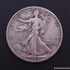 "Monedas antiguas de América: HALF DOLLAR 1944 ""D"" WALKING LIBERTY MEDIO DÓLAR ESTADOS UNIDOS. Lote 254806575"