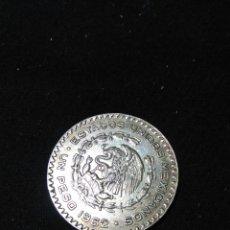 Moedas antigas da América: MONEDA DE PLATA MEXICO ,UN PESO 1962 MUY BUEN ESTADO. Lote 255487690