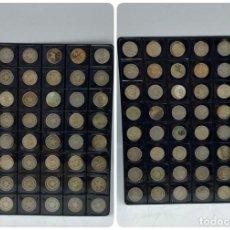 Monedas antiguas de América: LOTE DE 48 MONEDAS DE CUBA. DIEZ CENTAVOS. MONEDAS DEL AÑO DE 1915 AL 1949. VER TODAS LAS FOTOS. Lote 258256320