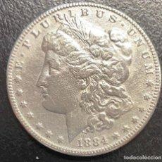 Monedas antiguas de América: ESTADOS UNIDOS, MONEDA DE 1 DÓLAR DEL AÑO 1884. Lote 258311005