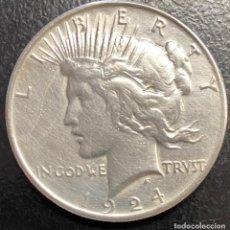 Monedas antiguas de América: ESTADOS UNIDOS, MONEDA DE 1 DÓLAR DEL AÑO 1924. Lote 258311495