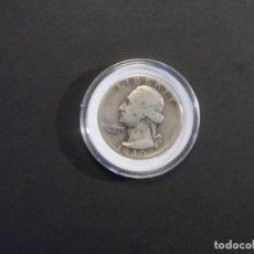 Monedas antiguas de América: QUARTER DOLLAR DE PLATA. ESTADOS UNIDOS DE AMERICA. AÑO 1940. Lote 260354155