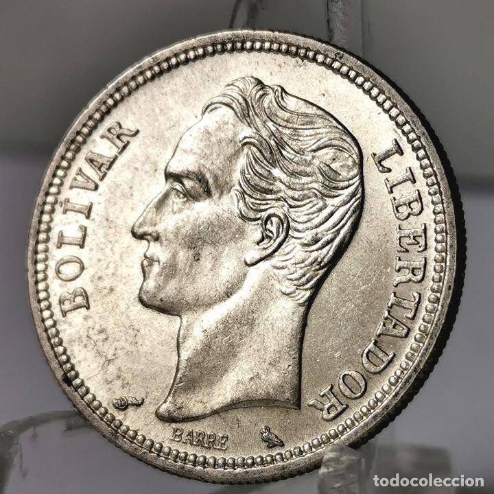 ⚜️ A1933. PLATA 1 BOLÍVAR 1960. VENEZUELA. ESTAMOS SUBASTANDO LA SERIE COMPLETA (Numismática - Extranjeras - América)