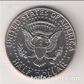 Monedas antiguas de América: MONEDA DE MEDIO DÓLAR DE ESTADOS UNIDOS DE 1988-P. CUPRO-NÍQUEL. SIN CIRCULAR. (ME584) - Foto 2 - 261068010
