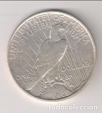 Monedas antiguas de América: MONEDA DE DÓLAR (LIBERTY) DE ESTADOS UNIDOS DE 1922-D. PLATA. MBC. (ME1273). - Foto 2 - 261102255