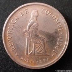 Monedas antiguas de América: MONEDA DE 5 PESOS COLOMBIA AÑO 1980. Lote 261167490