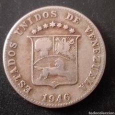 Monedas antiguas de América: MONEDA DE VENEZUELA 12 CENTIMOS Y MEDIO AÑO 1946. Lote 261170010