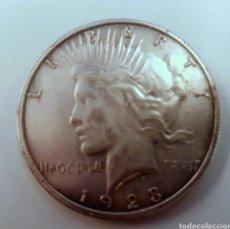 Monedas antiguas de América: USA. UN DÓLAR DE 1928, FALSO.. Lote 261211940