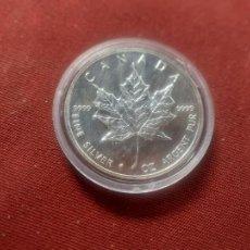 Monedas antiguas de América: CANADA. ONZA DE PLATA PURA 1994 ENCAPSULADA SC. Lote 261285005