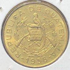 Monedas antiguas de América: GUATEMALA KM260 1 CENTAVO 1958 UNC BU. Lote 261308180