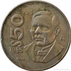 Monedas antiguas de América: MÉXICO (ESTADOS UNIDOS MEXICANOS). 50 PESOS DE 1985. (211).. Lote 261560390