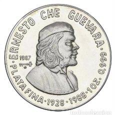 Monedas antiguas de América: CUBA 10 PESOS 1988 CHE GUEVARA PROOF. Lote 261564340