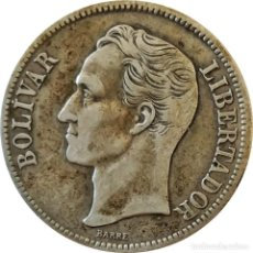 Monedas antiguas de América: VENEZUELA. 1 BOLIVAR DE 1945. (091).. Lote 261567115